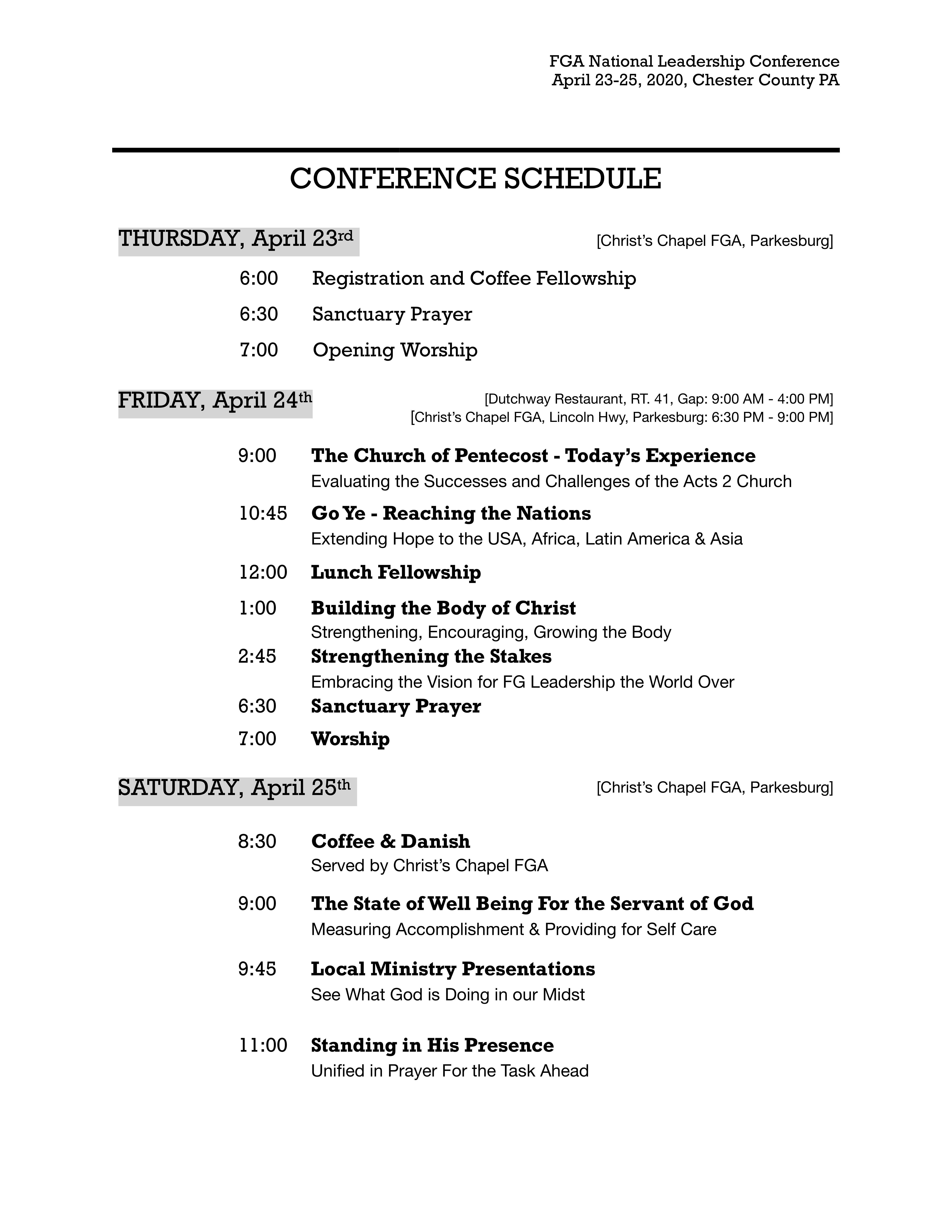 FGAI Itinerary.04-20 National Summit