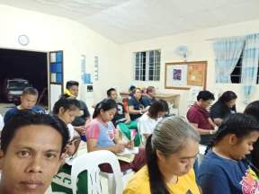 PST-IMI students in Camiling, Tarlac Province, Philippines.